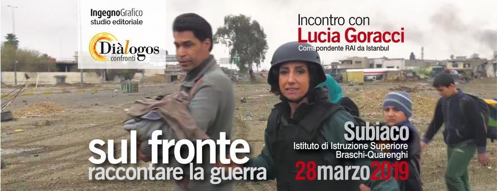 SUL FRONTE: RACCONTARE LA GUERRA – INCONTRO CON LUCIA GORACCI
