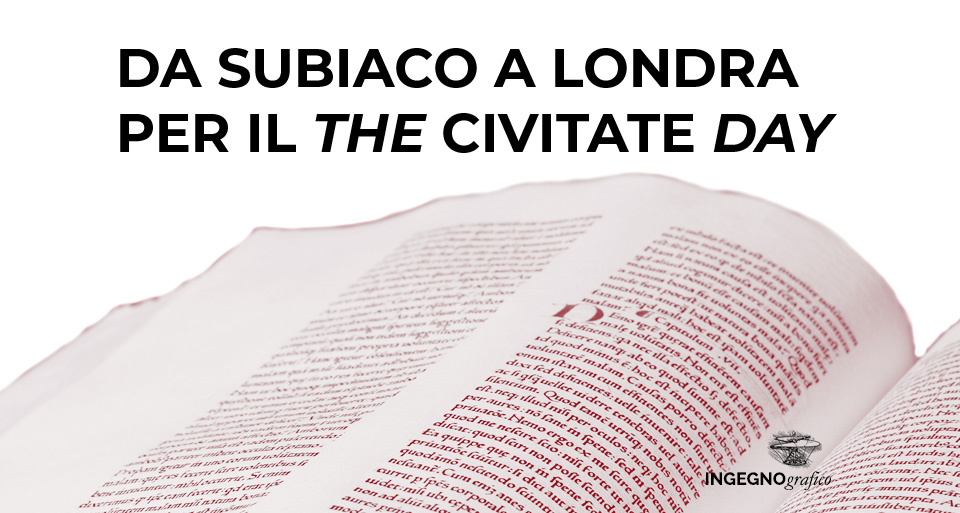 DA SUBIACO A LONDRA, PER IL THE CIVITATE DAY